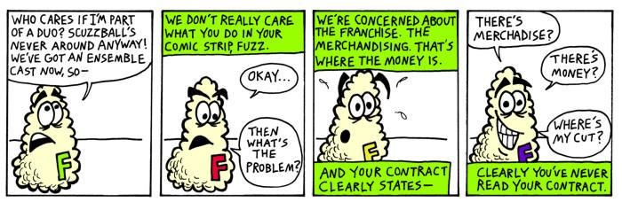 The Money's in Merchandising